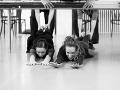 Sólistka baletu Eva Sklyartová a Táňa Pauhofová na skúške novej inscenácie Denník Anny Frankovej