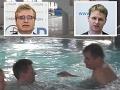 Holubník u Richtera! Tajomník prichytený cez pracovnú dobu v bazéne, FOTO čľapkanie s kolegom