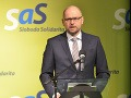 Sulík si poriadne verí: Pre SaS je v parlamentných voľbách hranica 20 percent dosiahnuteľná