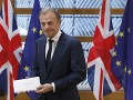 Toto nie je šťastný deň pre Európsku úniu, tvrdí Tusk: Na brexite je ale aj niečo pozitívneho