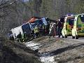 Ďalšia nehoda autobusu: Pri nehode v Škótsku sa zranilo 21 detí a dvaja dospelí
