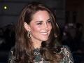 Kate Middleton prehovorila o pôrodoch: Užila som si to v hypnóze!