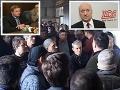 Poórov manažér musel utiecť ako prašivý pes: VIDEO Naháňali ho robotníci, reakcia ŽOS Trnava