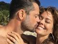 Brooke Burke a David Charvet tvoria priam dokonalý pár.