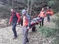 FOTO Záchrannej akcie vo Veľkej Fatre: Muža (52) privalila štvorkolka