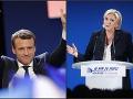 Blíži sa druhé kolo prezidentských volieb: Francúzsko sa mobilizuje, vedie stále Macron