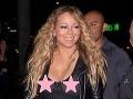 Mariah Carey na večeri: Paparazzom