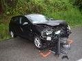 Tragická nehoda pred tunelom Bôrik: Vodič zahynul po čelnom náraze do betónu