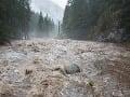 Povodeň napáchala v Demänovskej doline veľkú škodu: Oprava cesty vyjde na niekoľko tisíc eur
