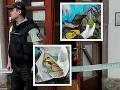 FOTO Dráma v Kremnici: Jaro (44) vylúpil banku s granátom a samopalom, policajti spustili paľbu