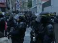 Po voľbách vo Francúzsku vypuklo viacero protikapitalistických demonštrácií
