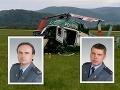 Po páde vrtuľníka zahynuli hasiči Radoslav Lacko a Peter Toďor