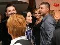 Marianna Ďurianová s partnerom Romanom v spoločnosti Michala Hudáka a jeho partnerky Denisy.