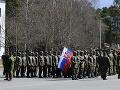 Slovenskí vojaci na cvičeniach v Lotyšsku.