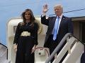 FOTO Manželka Donalda Trumpa sa postarala o poriadne haló: Na Blízky východ si dovolila prísť takto!