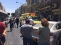 Dráma pred príchodom Trumpa do Tel Avivu: Incident na rušnej ulici, niekoľko zranených