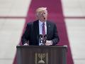 Trump sa v Izreali vyjadril k mieru: Vidí vzácnu príležitosť poraziť terorizmus