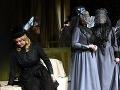 Vľavo Klára Vincze ako Ada v slovenskej premiére opery Richarda Wagnera Víly v Štátnom divadle Košice