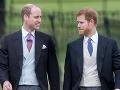 Kedysi nerozluční bratia William a Harry: KONIEC... Ani spolu neprehovorili!