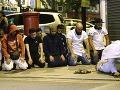 Dodávka narazila do moslimov odchádzajúcich z londýnskej mešity