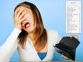 Peňaženky Slovákov aj tento rok horko zaplačú: TOTO je účet, ktorý by mal každý vidieť!