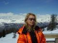 2007: Adriana Kmotríková na horách