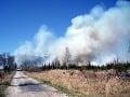 Veľký požiar lesa na Záhorí: Zasahuje vyše sto hasičov!