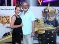 Herec Štefan Kožka s už takmer dospelou dcérou Rebeccou (17)