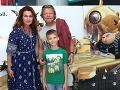 Maroš Kramár má s Natašou tri deti, pričom najmladší je Marko.