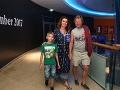 Maroš Kramár s manželkou Natašou a so synom Markom, ktorý má už 9 rokov.