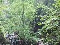 V Suchej Belej v Slovenskom raji. Turisti čakali 40 minút.