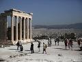Hrôza v Grécku: Do starovekej Akropole udrel blesk, zranil štyroch ľudí