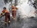 Príčinou požiaru pri Tisovci mohlo byť aj úmyselné založenie, myslia si hasiči