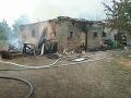 Požiar vo Vitanovej: Horeli štyri stodoly, zasahovalo viac ako 40 hasičov