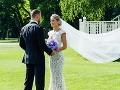 Gáborikova SEXI nevesta v župančeku... Nové FOTO z prominentnej svadby!