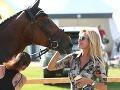 Kateřina Brožová má tiež rada kone.