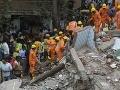 Tragická smrť tucta ľudí: VIDEO Zrútenie budovy v Bombaji pochovalo jej obyvateľov, obetí pribúda