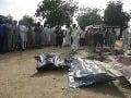 Dvaja muži a dve ženy sa odpálili v rušných uliciach: V Nigérii zomrelo 14 ľudí