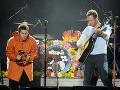 Liam Gallagher a Chris Martin