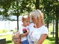 Zuzana Belohorcová s deťmi