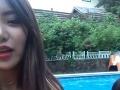 Chcela sa pochváliť selfie videom pri bazéne: Netušila, že nakrútila niečo desivé