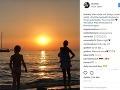 Lilly Becker zverejnila na instagrame fotku, na ktorej je jej synček nahý.