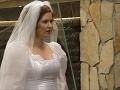 Zuzana Norisová vo svadobnom v Búrlivom víne
