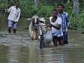 Prívalové dažde sužujú život