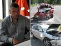 Kotlebova pravá ruka v problémoch! FOTO Spôsobil hrozivú dopravnú nehodu, vojna s políciou