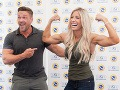 Heidi Powell ukázala svoje svaly.