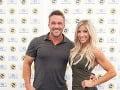 Chris Powell s manželkou Heidi.