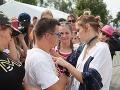 Emma Drobná ochotne rozdávala podpisy fanúšikom.