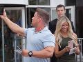 V DOD Markízy prišiel aj svetovo známy fitness tréner Chris Powell s manželkou Heidi.