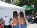 Daniela a Veronika Nízlové z dua TWiiNS predviedli šťavnaté zadočky v krátkych šortkách.